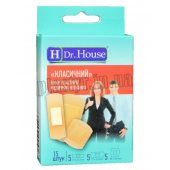 Набор пластырей Dr.House Классический нетканый 15шт