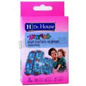 Набор пластырей Dr.House детский 1,9смх7,2см 16шт