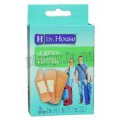Набор пластырей Dr.House В дорогу тканый 15шт