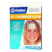 Пластырь-компресс Extraplast от головной боли охлаждающий 5смx12см 3шт
